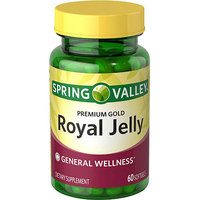 Spring Valley Premium Gold Royal Jelly Softgels, 60 count