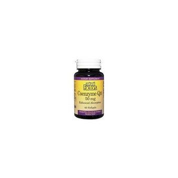 Natural Factors Coenzyme Q10 50mg Softgels, 30-Count