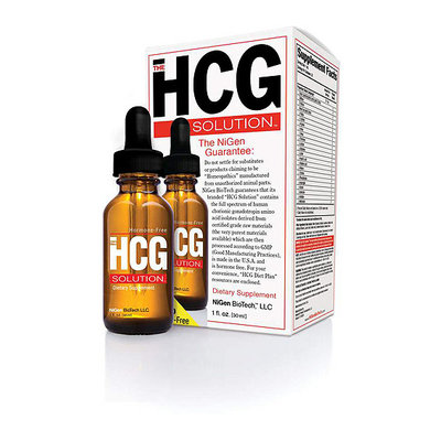 The HCG Solution Dietary Supplement