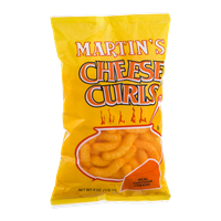 Martin's Cheese Curls Real Cheddar Cheese Flavored