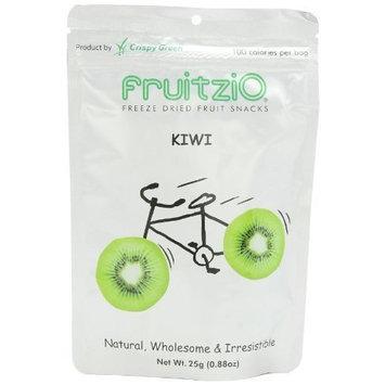 Fruitzi'o FruitziO Freeze Dried Fruit Snacks, Kiwi, 0.88-Ounce Pouches (Pack of 6)
