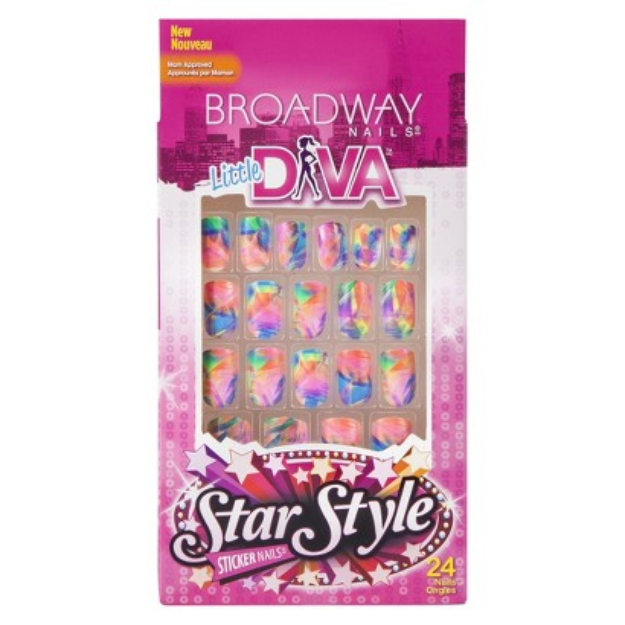 Broadway Nails Little Diva Sticker Nails - Hollywood