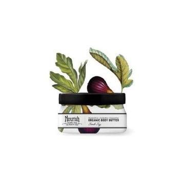Nourish Organic Body Butter, Fresh Fig, 3.6 oz