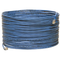 Tripp Lite 75' Cat5e Plenum-Rated Snagless Patch Cable (RJ-45 M/M), Blue