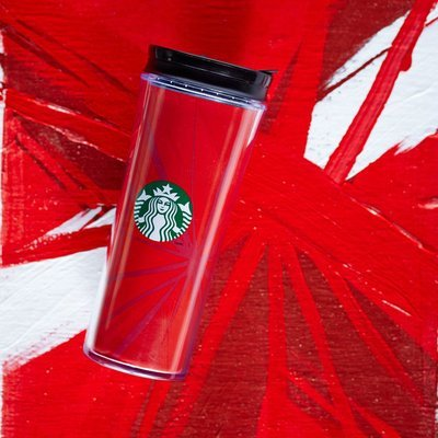 Red Holiday Cup Tumbler, 12 fl oz Starbucks Drinkware