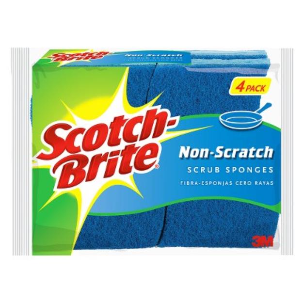 Scotch-Brite Basic Non-Scratch Scrub Sponge