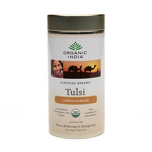 Organic India Tulsi Supplement Tea Loose Leaf Canister