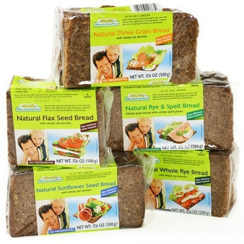 Mestemacher Organic German Bread - Flax Seed (17.6 ounce)