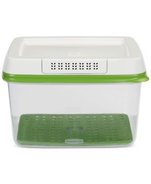 Rubbermaid FreshWorks Produce Saver - Large, Clear