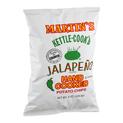 Martin's Kettle-Cook'd Hand Cooked Potato Chips Jalapeno Flavored