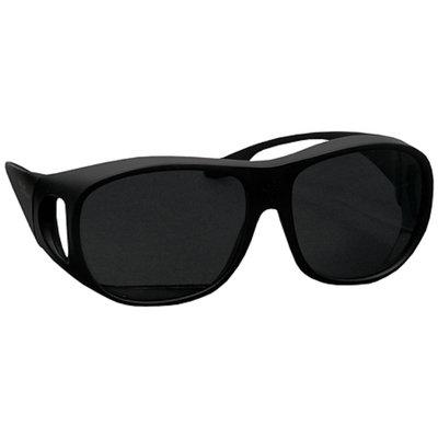 Solar Shield Fits Over Classic Polarized Plastic Sunglasses Size L