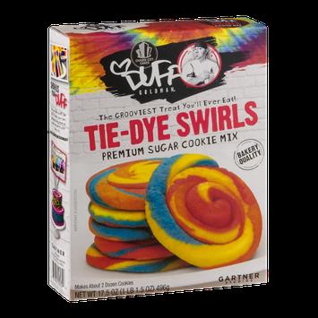 Duff Goldman Tie-Dye Swirls Premium Sugar Cookie Mix