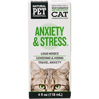 Cat Anxiety & Stress, 4 oz, King Bio Natural Pet Pharmaceuticals (KingBio)