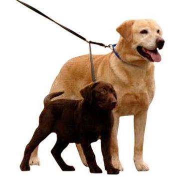 Sporn Double Dog Leash - Two Dog Leash Med- XL, black