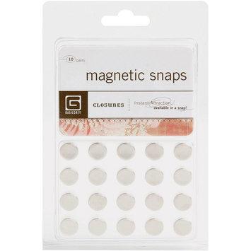 Basic Grey MET359 Magnetic Snaps 10/Pkg