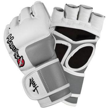 Hayabusa Tokushu 4oz MMA Gloves White/Slate Grey XLG