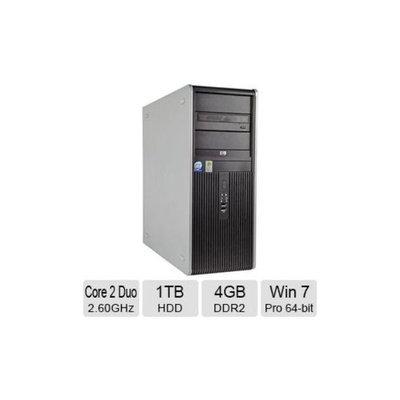 Refurbished HP Compaq DC7800 Desktop PC - Intel Core 2 Duo 2.60GHz, 4GB Memory, 1TB HDD, DVDRW, Windows 7 Professional 64-bit (Off-L
