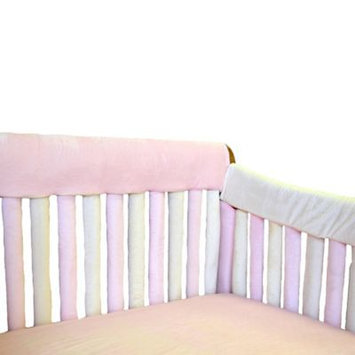 Go Mama Go Teething Guard 52X12 Pink & Cream
