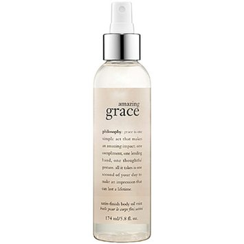 philosophy amazing grace satin-finish body oil mist