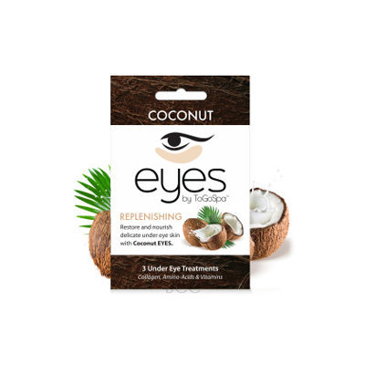 ToGoSpa Coconut - Replenishing Eye Pads 3 piece