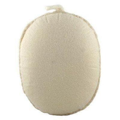 Spa Sister Bath Accessories Exfoliating Ball Sponge Beige
