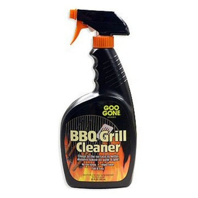 Goo Gone Stainless Steel Grill Cleaner , 12-Ounce Bottle (Pack of 4)