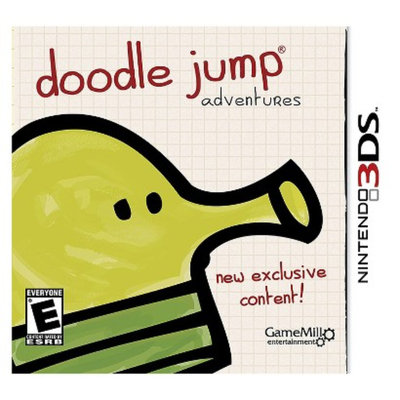 Game Mill Publishing 3DS Game Doodle Jump Adventures 3DS