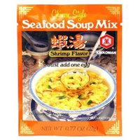 Kikkoman Seafood Soup Mix, Shrimp Flavor, 0.77 Ounce