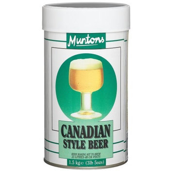 Muntons Canadian Style Beer Making Kit, 53-Ounce Can