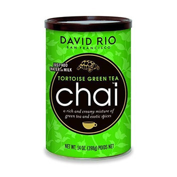 David Rio Chai Mix, Tortoise Green Tea, 14 Ounce
