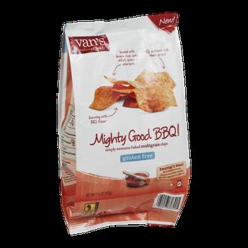 Van's Natural Foods Multigrain Chips Mighty Good BBQ!