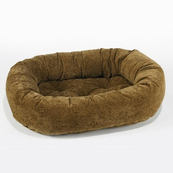 Bowsers Salsa Style Donut Dog Bed MD Pecan