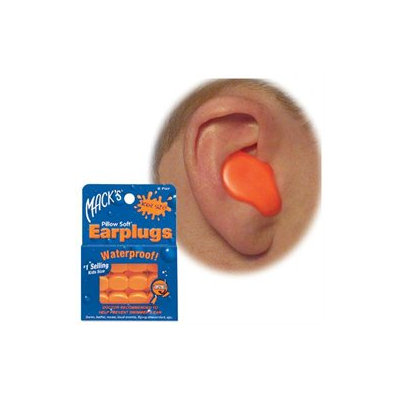 Mckeon Products Inc. Mack's Pillow Soft Earplugs For kids (6 Pair)