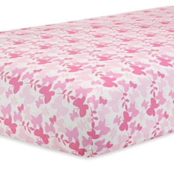 Triboro Quilt Co. Just Born Safe Sleep Botanica Crib Sheet