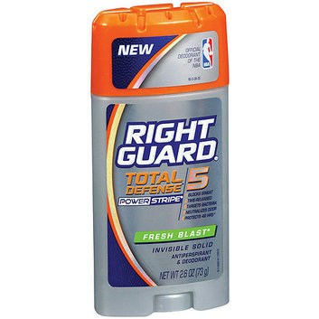 Right Guard Total Defense 5 Fresh Blast Invisible Solid Anti-Perspirant/Deodorant