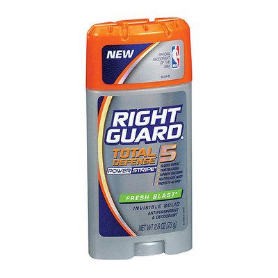 Right Guard Total Defense 5 Fresh Blast Invisible Solid Anti-Perspirant/Deodorant
