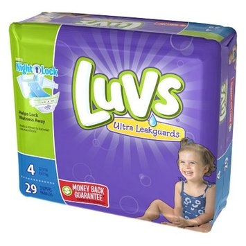 Luvs with Ultra Leakguards Size 4 Diapers