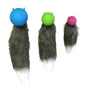 JW Pet Company Cuz Tail Dog Toy, Small (Colors Vary)