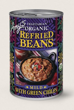 Amy's Kitchen Organic Vegetarian Refried Beans With Green Chiles
