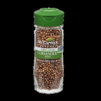 McCormick Gourmet™ Organic Coriander Seed