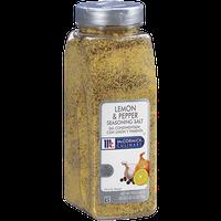 McCormick Culinary® Lemon & Pepper Seasoning Salt