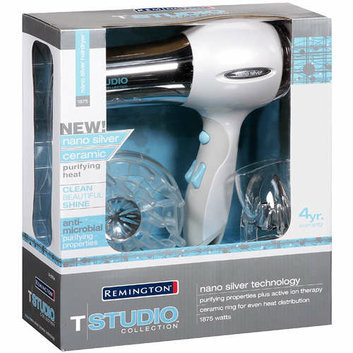 Remington D-2015A 1875-watt Nano Silver Hair Dryer