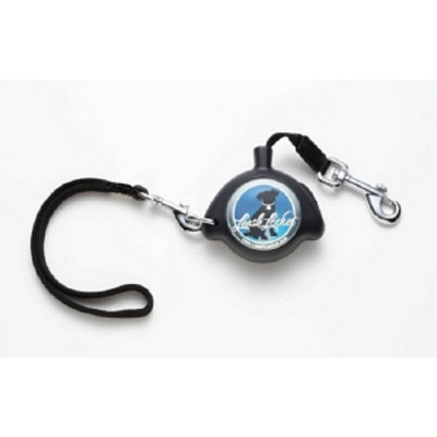 Leash Lockets Retractable Dog Leash Model LLBK-SM1, Small, Black, 1 ea