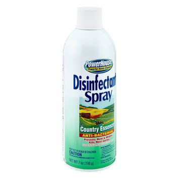 PowerHouse Anti-Bacterial Country Essence Disinfectant Spray