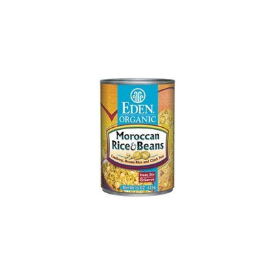 Eden Moroccan Rice & Garbanzo Beans, Organic, 15-ounces (Pack of12)