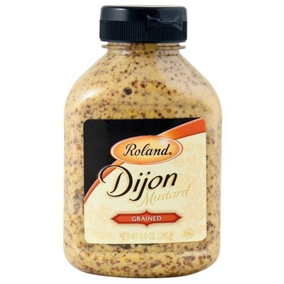 Roland Grained Dijon Mustard, 9.9-Ounce (Pack of 6)
