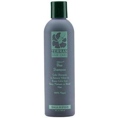 Zerran Blue Shampoo, 8 Ounce