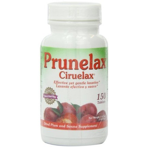 CIRUELAX Prunelax Tablets, 150 Count