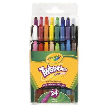 Crayola 24ct Twistable Crayons - Multicolor