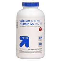 up & up up&up Calcium 600 mg and Vitamin D 400 iu Tablets - 400 Count